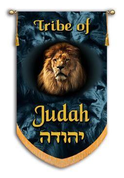 Tribes Of Israel Tribe Of Judah Printed Banner Tribu De Juda