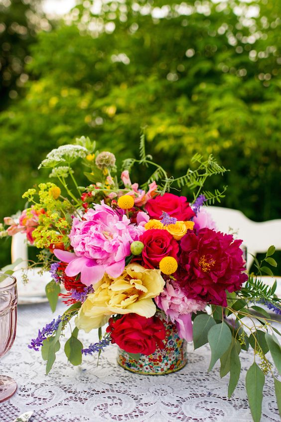 Colorful Farm Wedding Inspiration