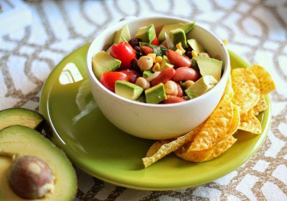 {Marinaded 3 Bean Salad}