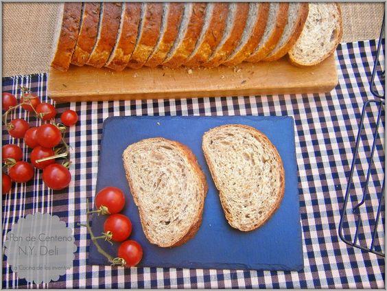 La Cocina de los inventos: Pan de Centeno estilo New York deli