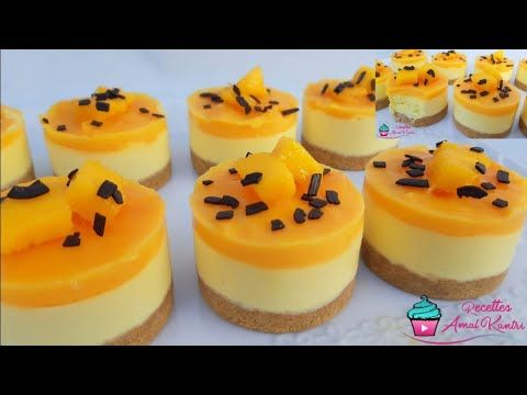 طعم خيالي أفخم ميني كيك مذاقه مايخطرش على البال والله روعة يحمرلك وجهك مع ضيافك راقي Top De Top Youtube Mousse Recipes Mini Cakes Party Desserts