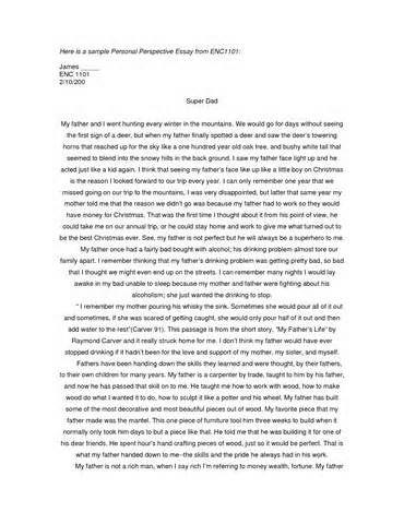 msw application essay sample