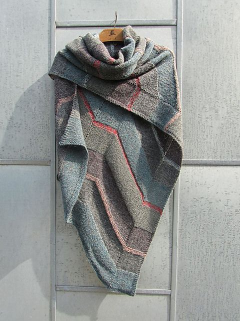 Ravelry: Tokyo Shawl pattern by Marianne Isager