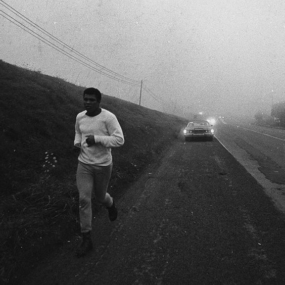 Greatness goes the distance. #MondayMotivation #MuhammadAli: