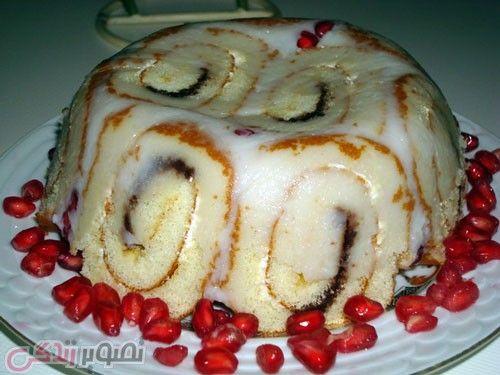 طرز تهیه شارلوت انار دسر مجلسی برای شب یلدا و یلدایی عروس مجله تصویر زندگی Food Breakfast Desserts
