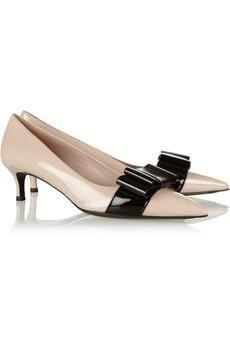 Miu MIu #shoes #pumps #heels  bow embellished