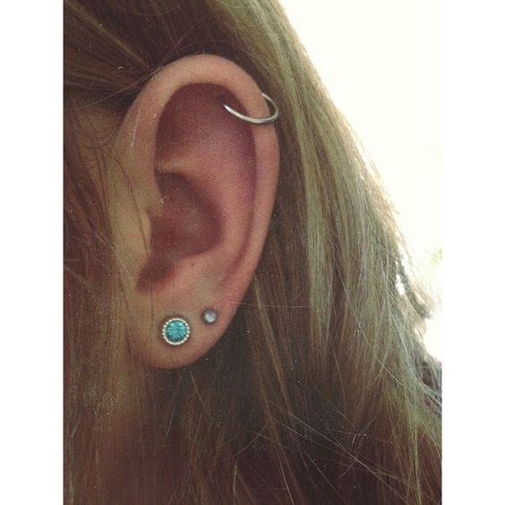 My ear is going to look like this before the end of the school year :)