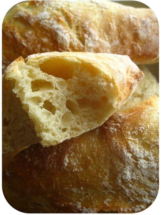 Petits pains sans petrissage ...a tomber !