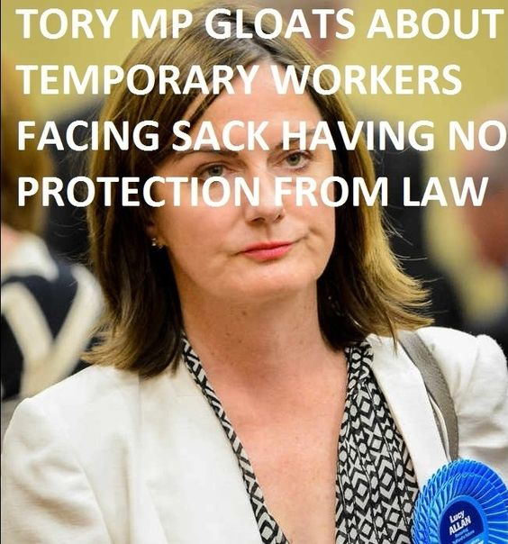 Hot on the heels of the shameful bullying allegations around the death of a young party activist, yet more charges of bullying are emerging against leading members of the Tory Party. This time Lucy...