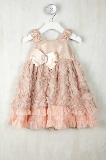 C'est Chouette Toddler Bloom Dress (maybe idea for someone's first birthday party.. that is until cake time lol)