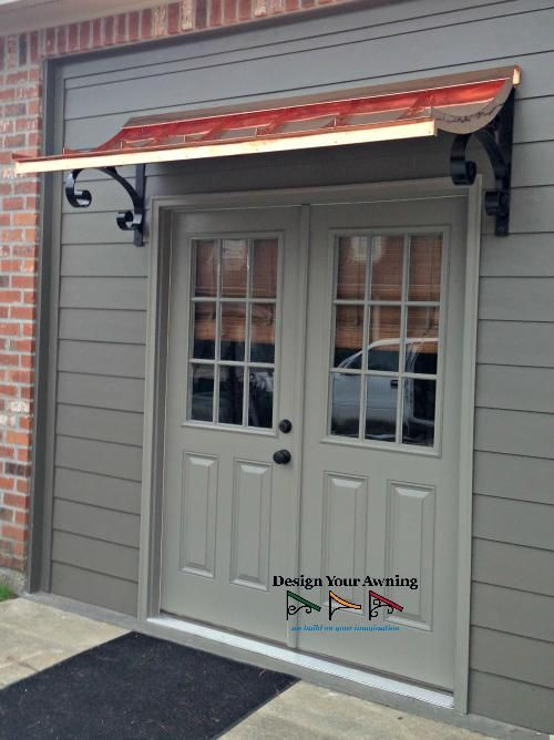 Double Door Awnings Custom Awnings Canopy Design Indoor Awnings