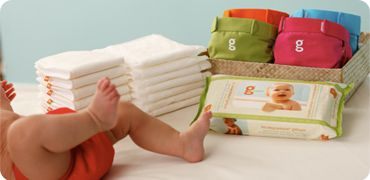 gDiapers are Earth friendly!