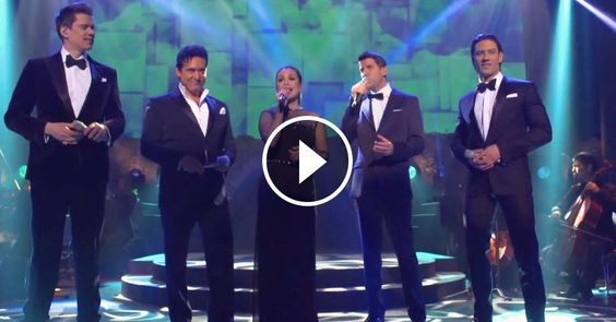 22 Years Later Jasmine from 'Aladdin' Sings 'A Whole New World' with Il Divo