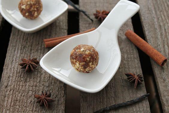 Gesunde Snacks: Weihnachtliche Energy Balls | Projekt: Gesund leben | Clean Eating, Fitness & Entspannung