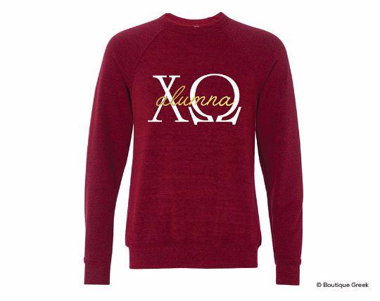 ChiO Alumna Crew Neck Sweater