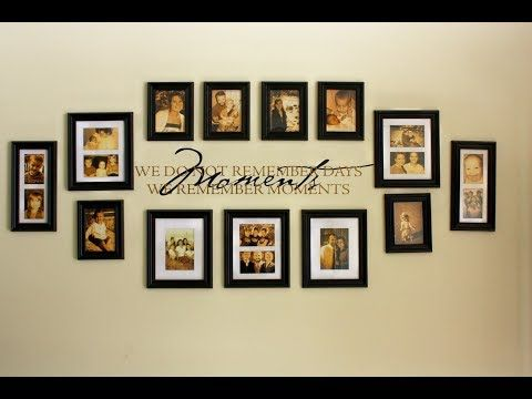13 Top 40 Picture Frame Design Ideas Diy Tour 2018 Best Interior Design Using Repurpose Frame Crafts Frame Wall Decor Family Wall Collage Family Wall Decor
