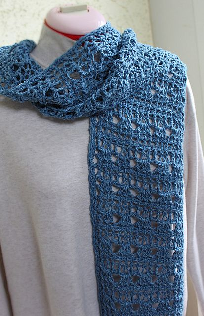 Tunisian Crochet Scarf: free pattern