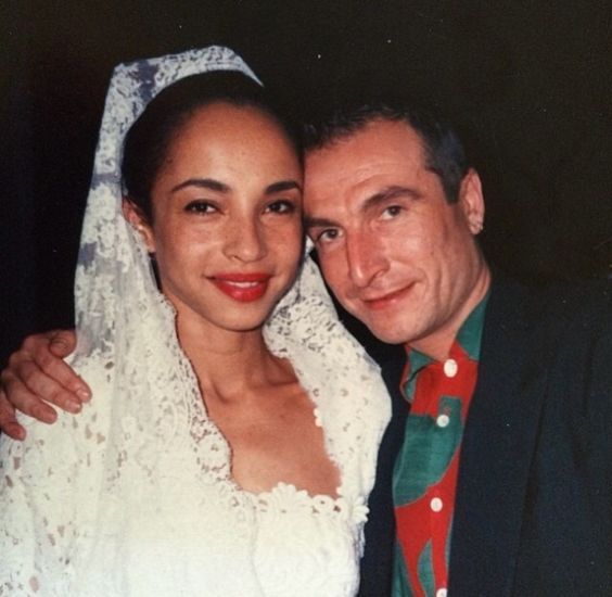 Sade Adu Sade On Her Wedding Day In Madrid 1989 Sade Adu Sade Sade Husband