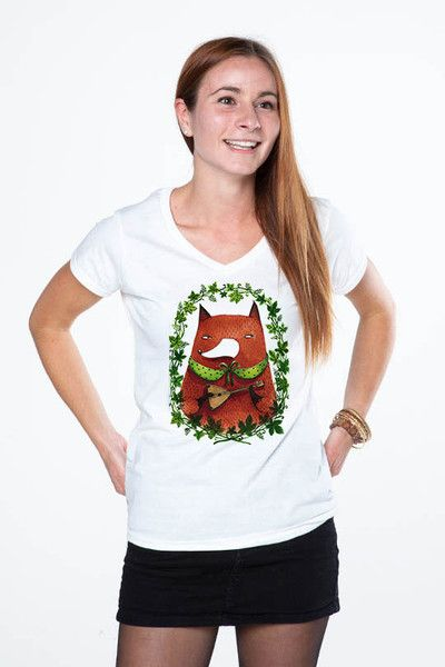 t-shot fox