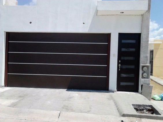 Porton herreria minimalista buscar con google portones for Portones para garage