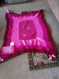 little princess Amari blanket. No blanket is alike. It is personalized just for you