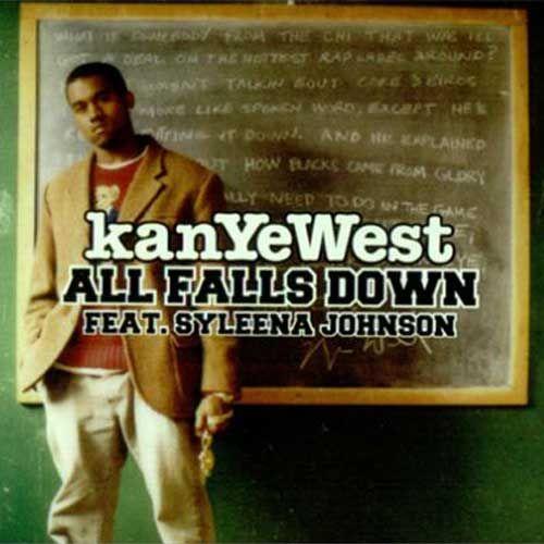 Kanye West, Syleena Johnson – All Falls Down (single cover art)