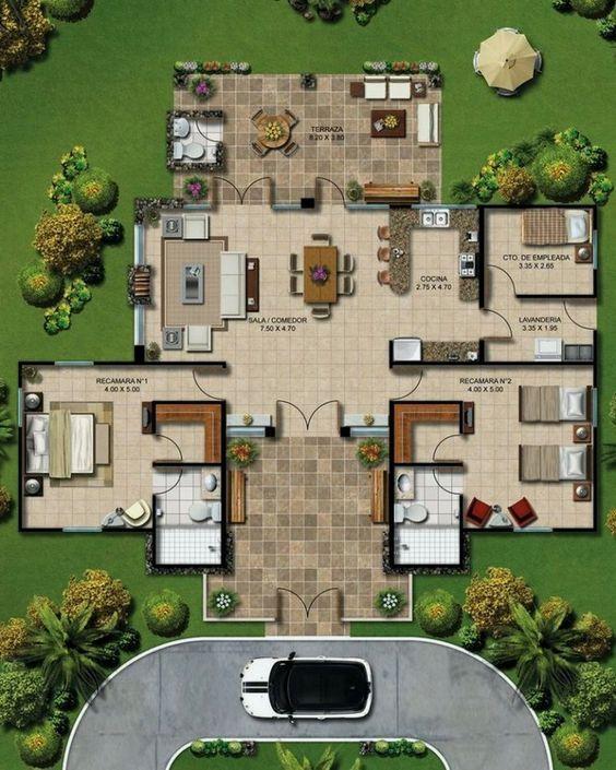 Best Flat Floor Plan Interior 2d 3d Aamiralvi839 Rumah Minimalis Minimalis Rumah