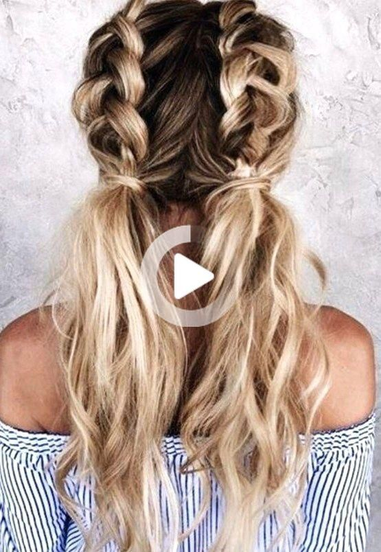 27 Cute And Easy Long Hairstyles For School Hair Styles Long Hair Styles Hairstyles For School