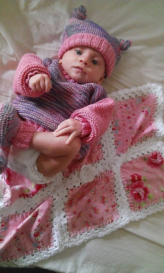 Revesible Baby Crochet Carseat Blanket by LydiasTreasures on Etsy, $5.00
