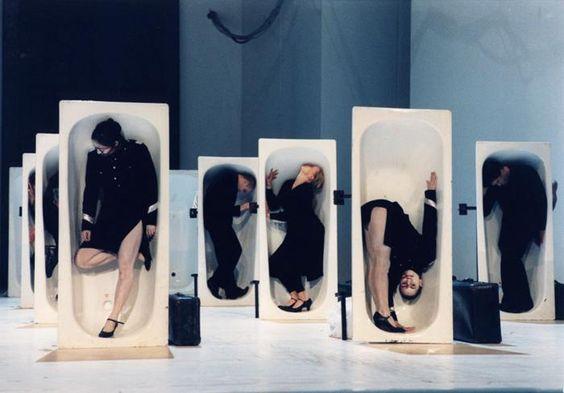 'Macbeth' 1988, Johann Kresnik. (Escenografía, maquillaje y vestuario: Gottfried Helnwein).
