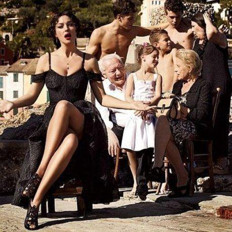 Monica Bellucci for Dolce and Gabbana