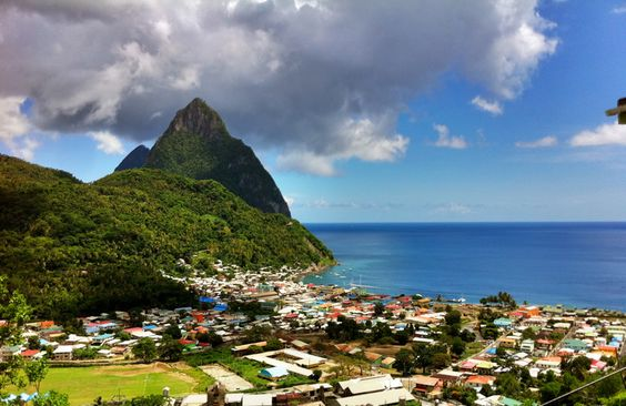 St. Lucia-  beautiful shot