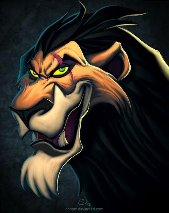 Disney Villains Scar by ~BoOoM on deviantART