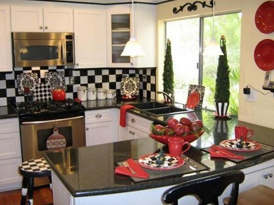 Black And White Coffee Themed Kitchen Decor Home Interiors Themes Cafe