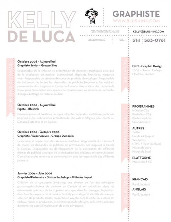 resume design ideas Digital Portfolio Pinterest Cv design - how to design a resume