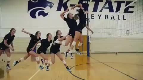 Volleyball Spike The Basics For Attacking The Ball Hard For Points Volleyball Volleyball Clubs Teaching
