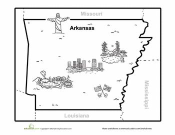 map of arkansas map of arkansas maps and articles. Black Bedroom Furniture Sets. Home Design Ideas