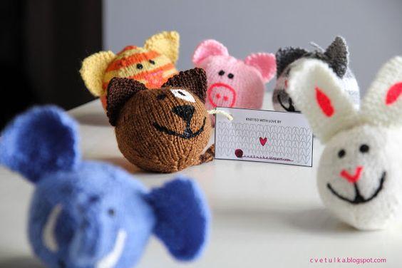 Beasts! | c v e t u l k a knits