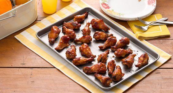 Spicy Chicken Drummettes recipe - Dress up precooked frozen drummettes ...