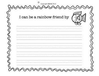 Writing activity about friendship