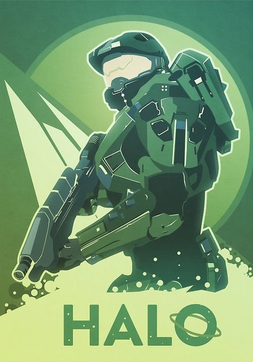 Master Chief by Anton Lundin