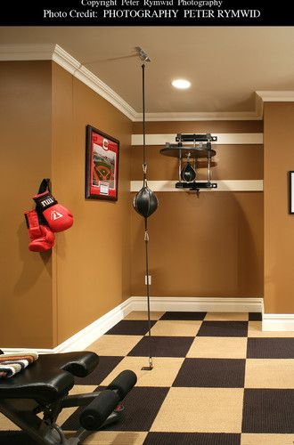 Basements boxing and exercise rooms on pinterest