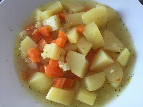 basische Gemüsesuppe