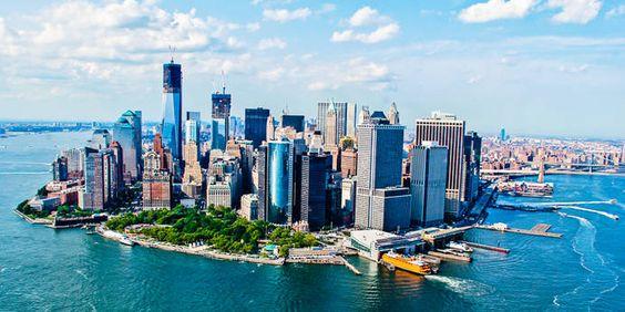 Panorama von Manhattan, New York City