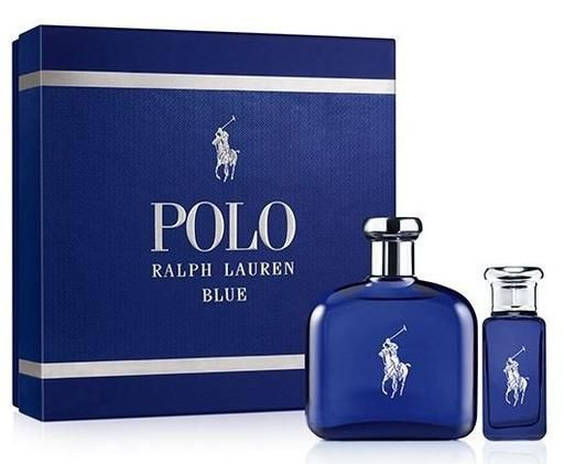 Ralph Lauren Polo Blue Estuche Perfume Perfumes Hombre