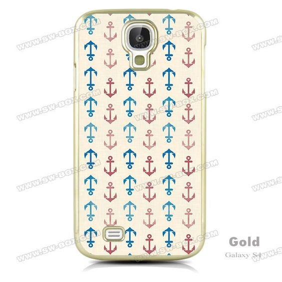 ... Design Cases : Pinterest : Galaxy S4 Case, S4 Case and Nautical Anchor