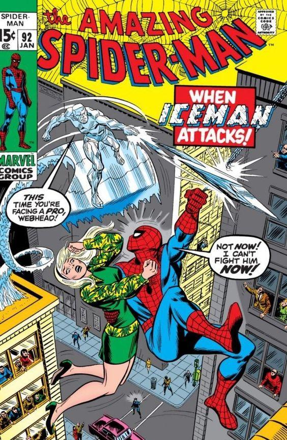 The Amazing Spider-Man #92 - January 1971 cover by John Romita Sr