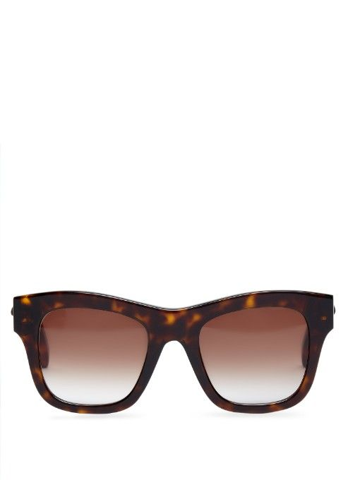 Stella McCartney Wayfarer square-framed sunglasses
