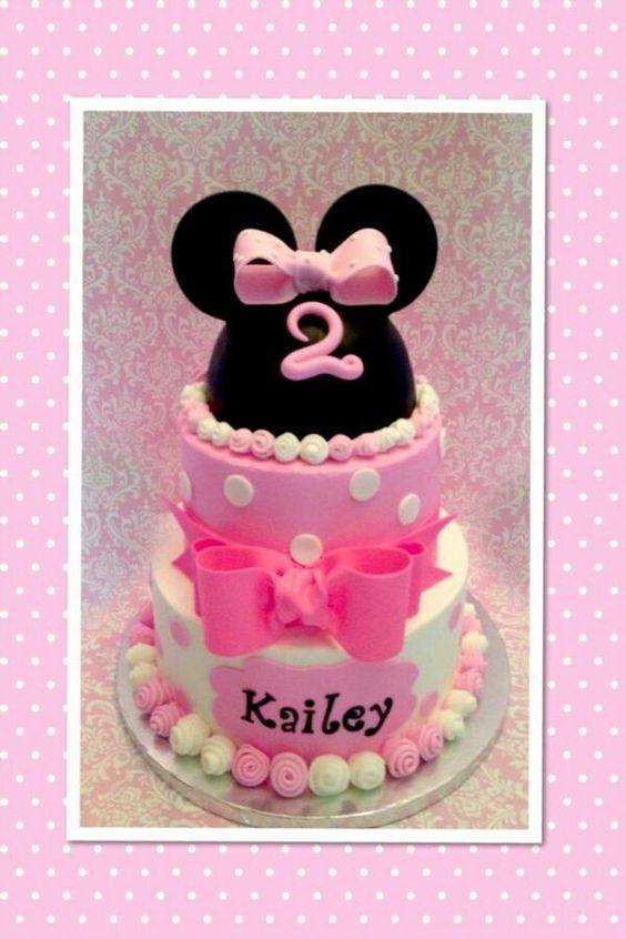 Torta minnie rosa