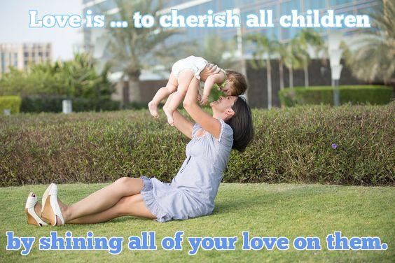 LOVE IS ... Verse  #love #alanjporterart #kompas #art #thoughts #child #mother #garden